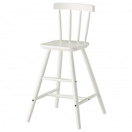 Детский стул АГАМ белый фото 0