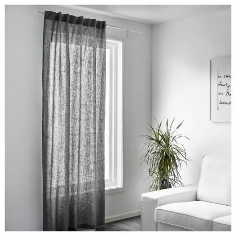 Ткань АЙНА серый фото 1